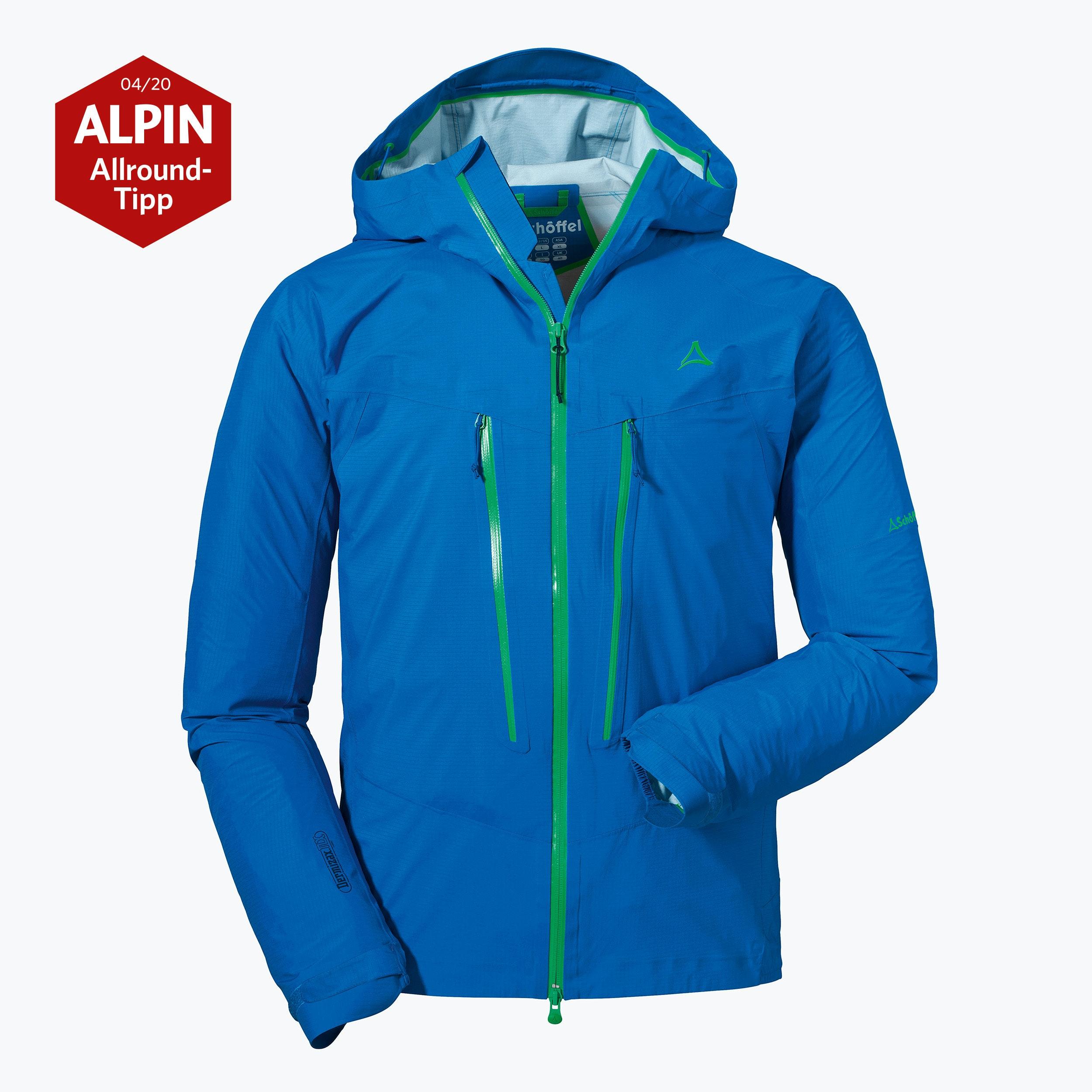 Schöffel 3L Jacket Aletsch L Bergjacke Tourenjacke Wanderjacke Funktionsjacke